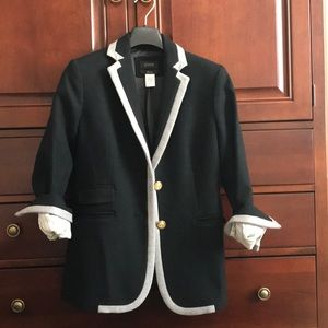 J. Crew wool hacking blazer
